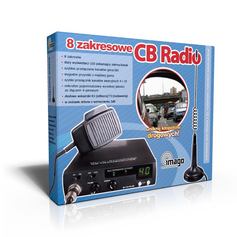 CB Radio - packaging design