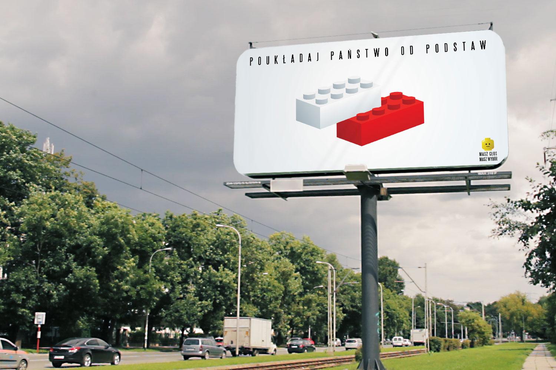 Billboard Poukładaj Pańswo od podstaw