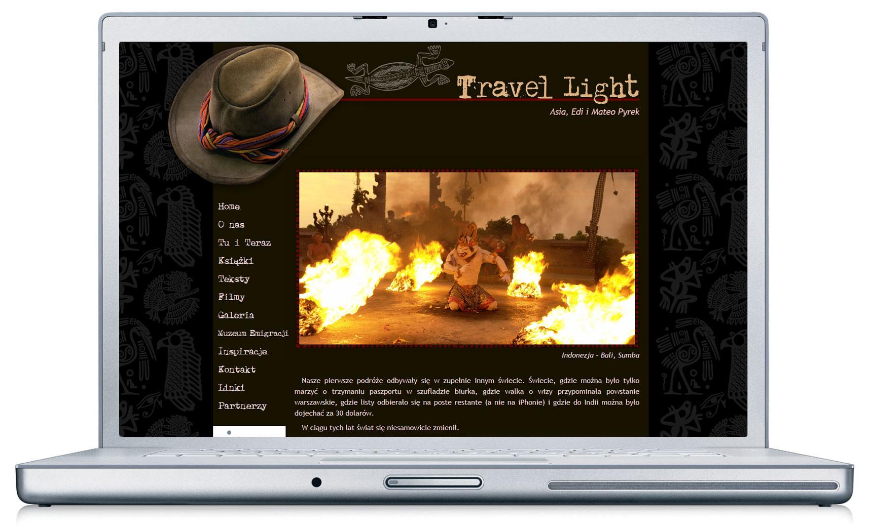 Travel light - blog podróżniczy